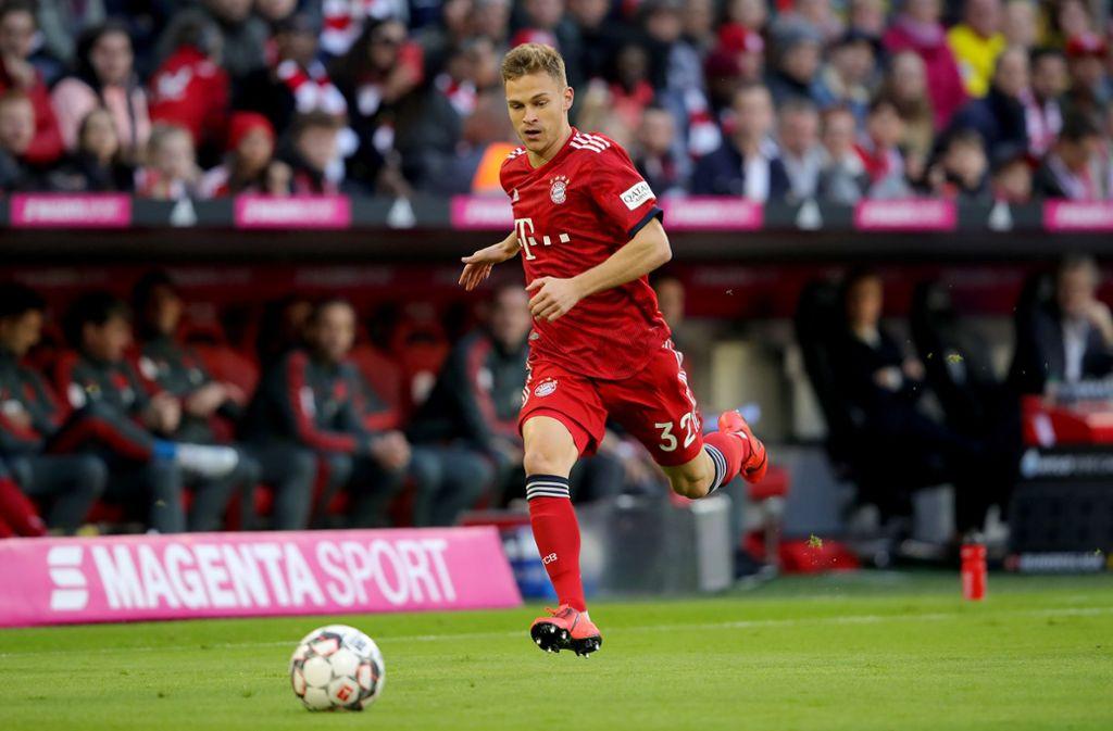 Der ehemalige VfB-Jugendspieler Joshua Kimmich lässt kein gutes Haar an seinem früheren Verein. Foto: Bongarts/Getty Images