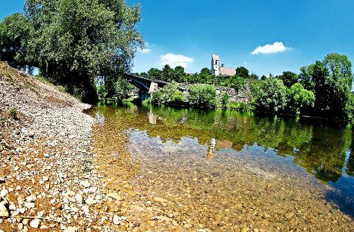 Flüsse führen nur noch wenig Wasser