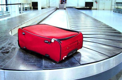 Der Koffer ist weg