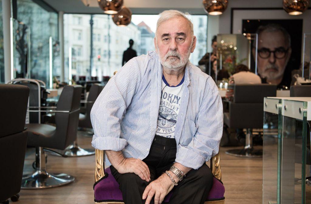 Udo Walz betreibt neun Friseursalons an verschiedenen Orten, unter anderem auf Mallorca, sein Stammsalon ist in Berlin. Foto: dpa