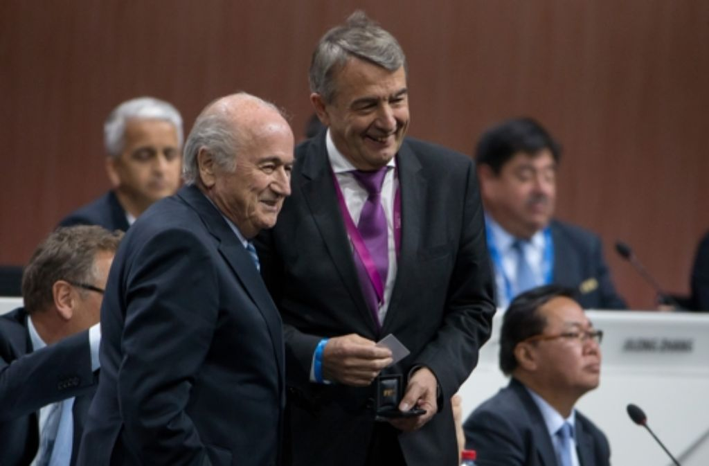 Wolfgang Niersbach ist jetzt dick drin in der Fifa. Foto: Getty Images Europe