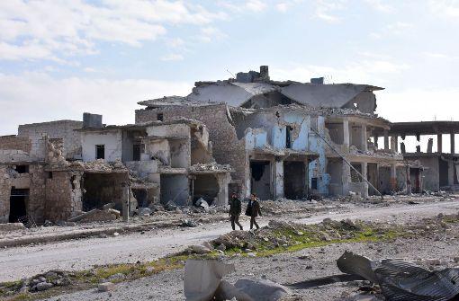 Rebellen in Aleppo offenbar kurz vor der Niederlage