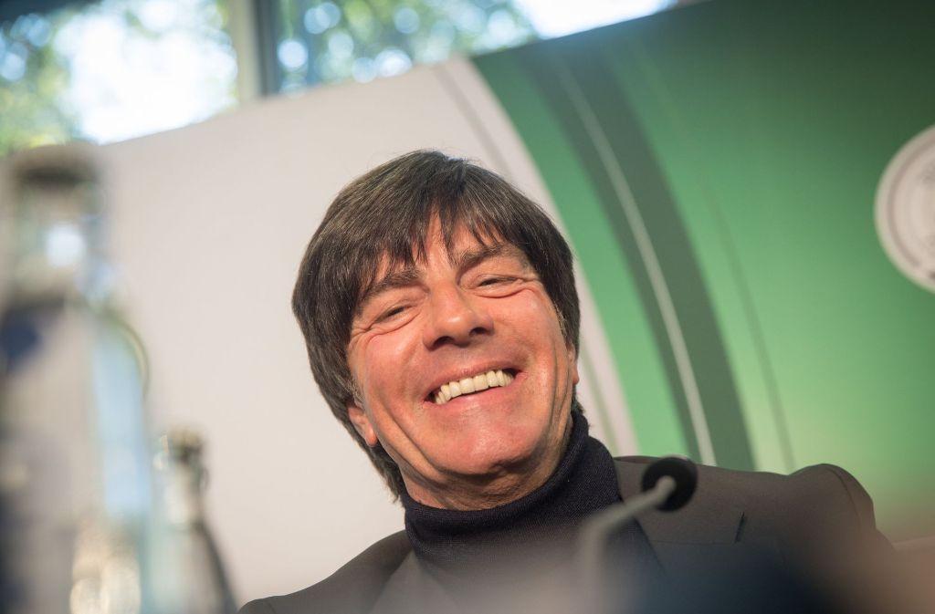 Bundestrainer Joachim Löw darf als Wahlmann über den neue Bundespräsidenten abstimmen. Foto: dpa