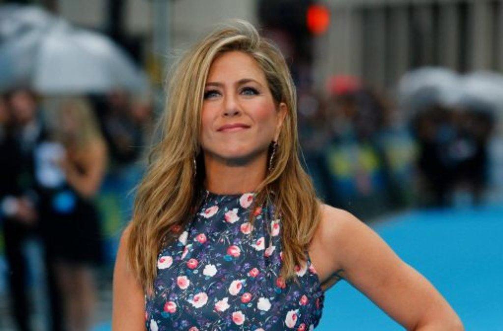 Jennifer Aniston wird 45. Wann muss sie nicht mehr Hollywoods Sorgenkind sein? Foto: dpa