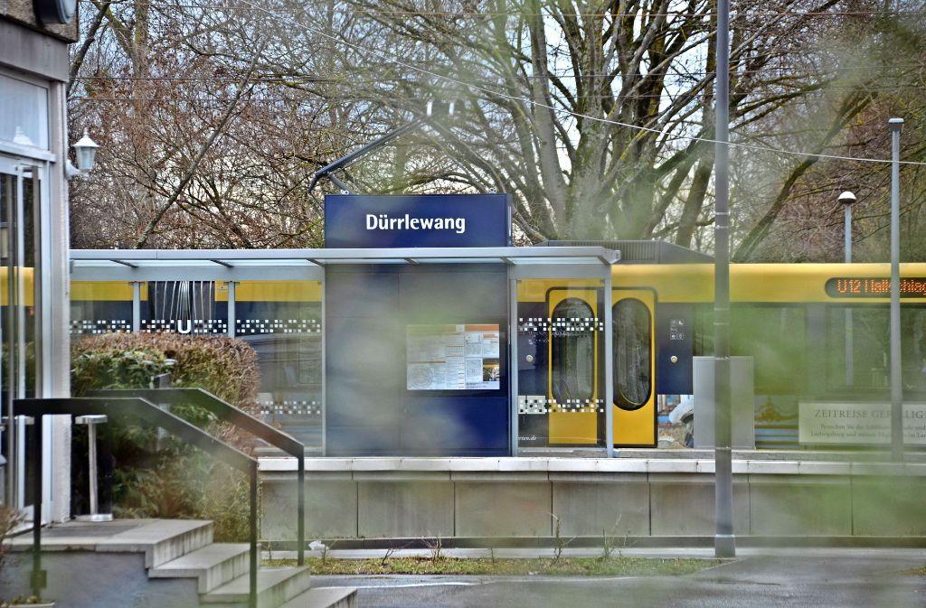 Die U12  verbindet Dürrlewang mit Möhringen, Degerloch und der Innenstadt. Foto: Eileen Breuer