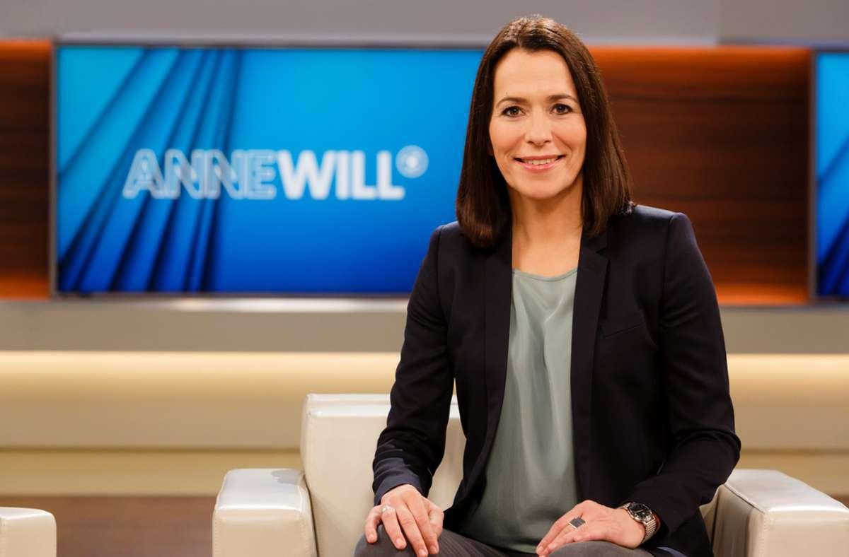 Anne Will fragte in ihrer Politrunde nach der Zeit nach der Corona-Epidemie. Foto: ARD/Wolfgang Borrs
