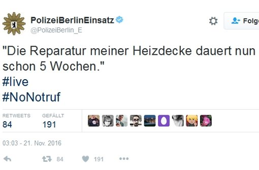 Berliner Polizei verzeichnet weniger Notrufe