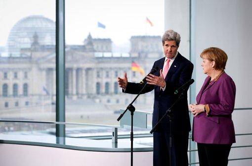 Kerry in Berlin eingetroffen