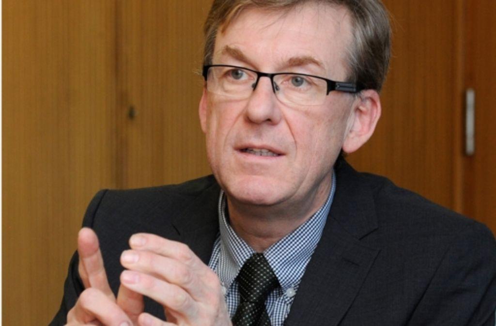 Ralf Michelfelder vom baden-württembergischen LKA macht die verschlüsselte Kommunikation Sorgen. Foto: dpa