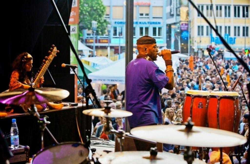 Ohne einen 2000-Euro-Zuschuss des Bezirksbeirats Mitte könnte zum Beispiel das Festival der Kulturen nicht stattfinden. Foto: Steinert