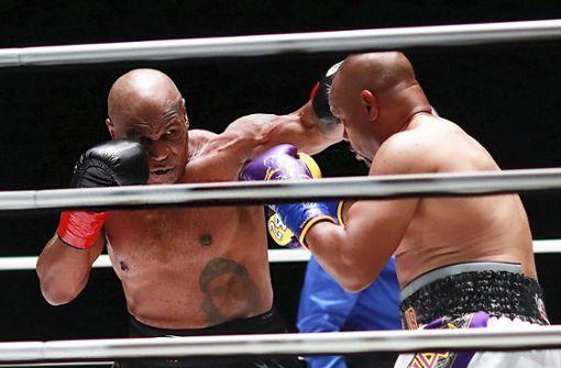 Unentschieden zwischen Tyson und Jones Jr.