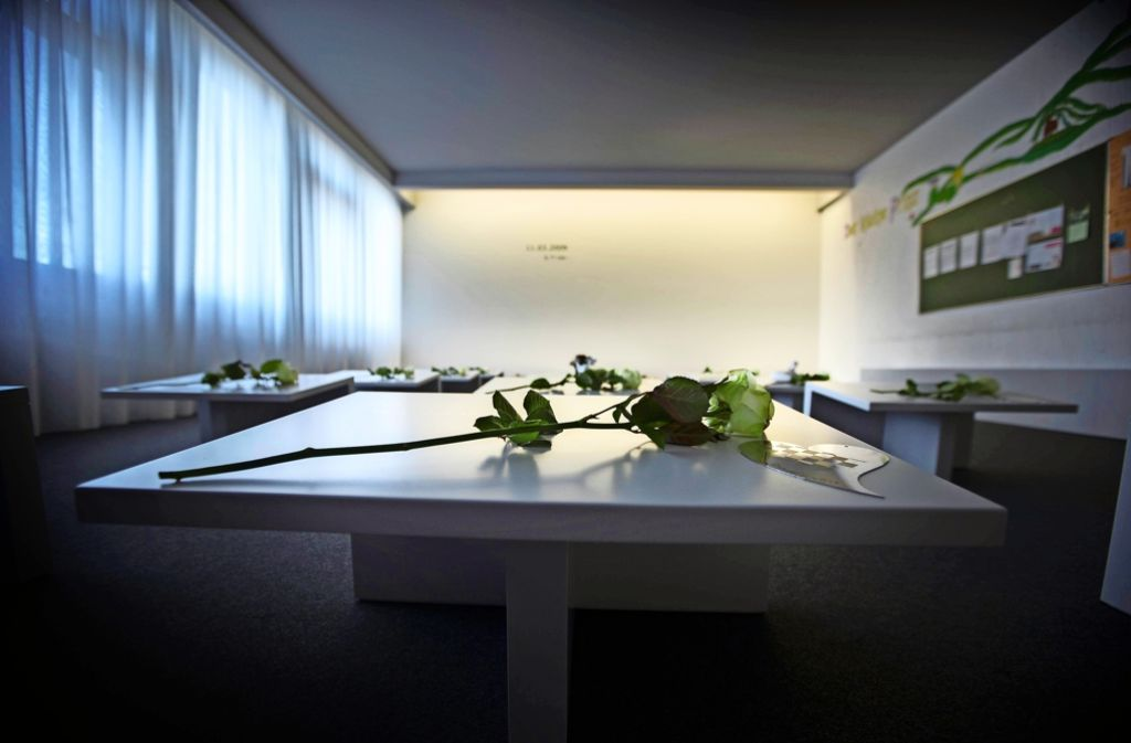 Der Raum der Stille in der Albertville-Realschule wurde im März 2013 in den ehemaligen Klassenzimmern eingerichtet. Foto: Stoppel/Archiv