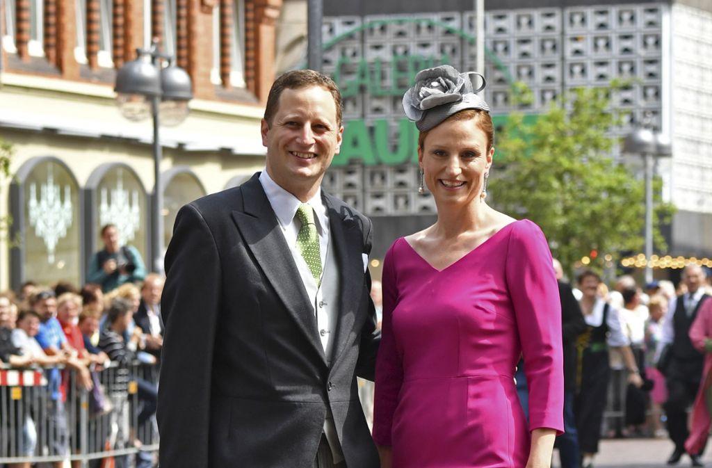 Georg Friedrich Prinz von Preußen ist der Chef des Hauses Hohenzollern. Er und seine Frau Sophie haben vier Kinder. Foto: dpa
