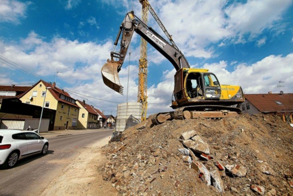 Jährlich fallen im Landkreis 20 000 Kubikmeter belastetes Erdreich an. Foto: factum