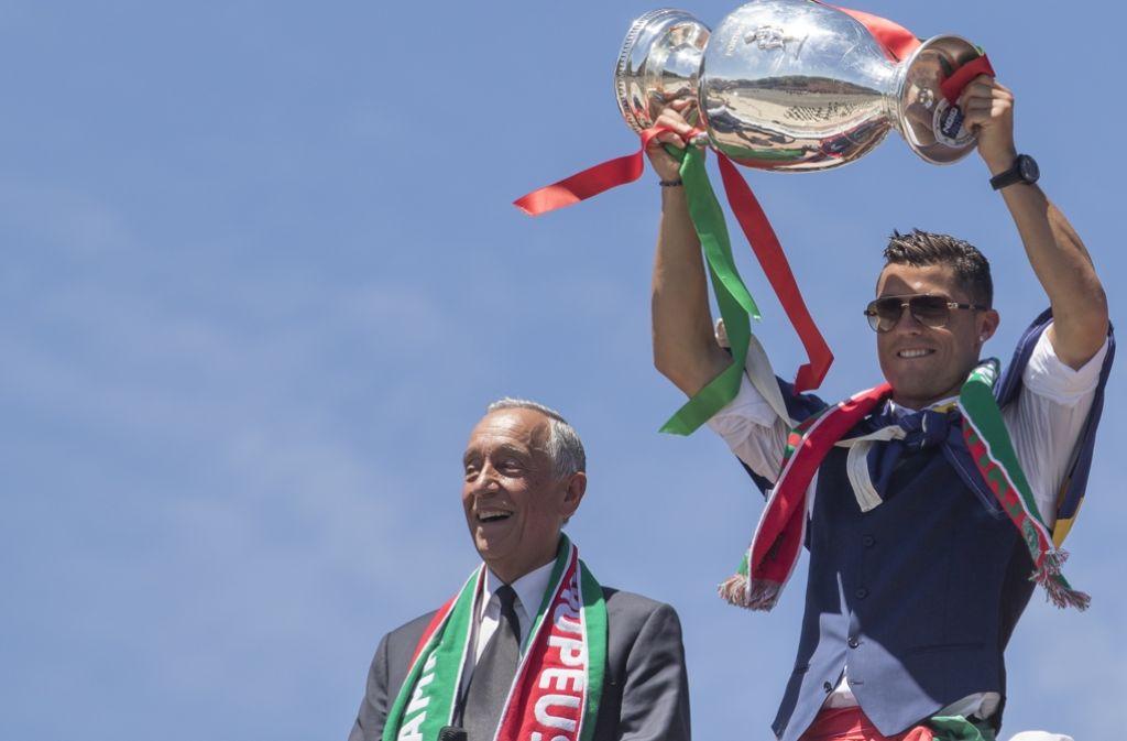 Ronaldo darf in einer Top-Elf natürlich nicht fehlen. Foto: Getty