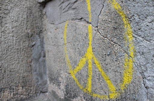 Wo Graffiti nur Peace-Zeichen sind
