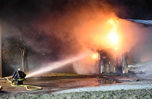 700 000 Euro Schaden bei Brand entstanden