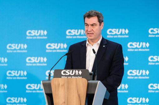 Bayern verhängt weitreichende Ausgangsbeschränkungen
