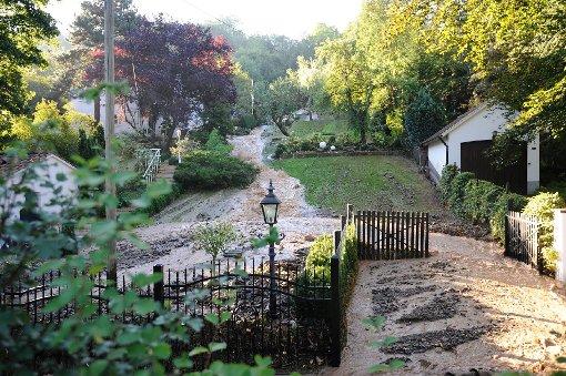 Rohrbruch: Kaltentaler Abfahrt gesperrt