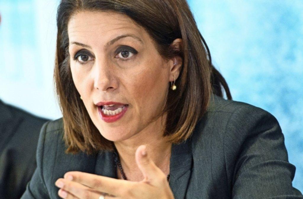 Integrationsministerin Bilkay Öney (SPD) Foto: dpa