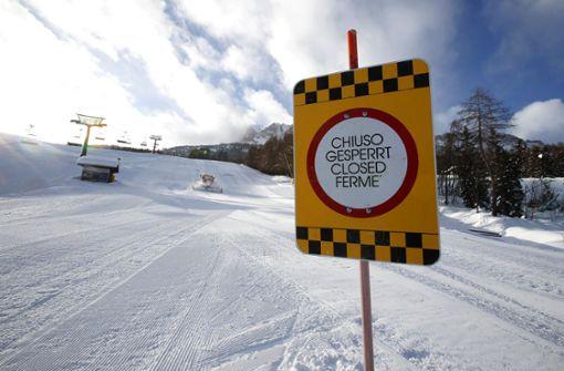 Italiens Regierung stoppt geplante Öffnung der Skigebiete