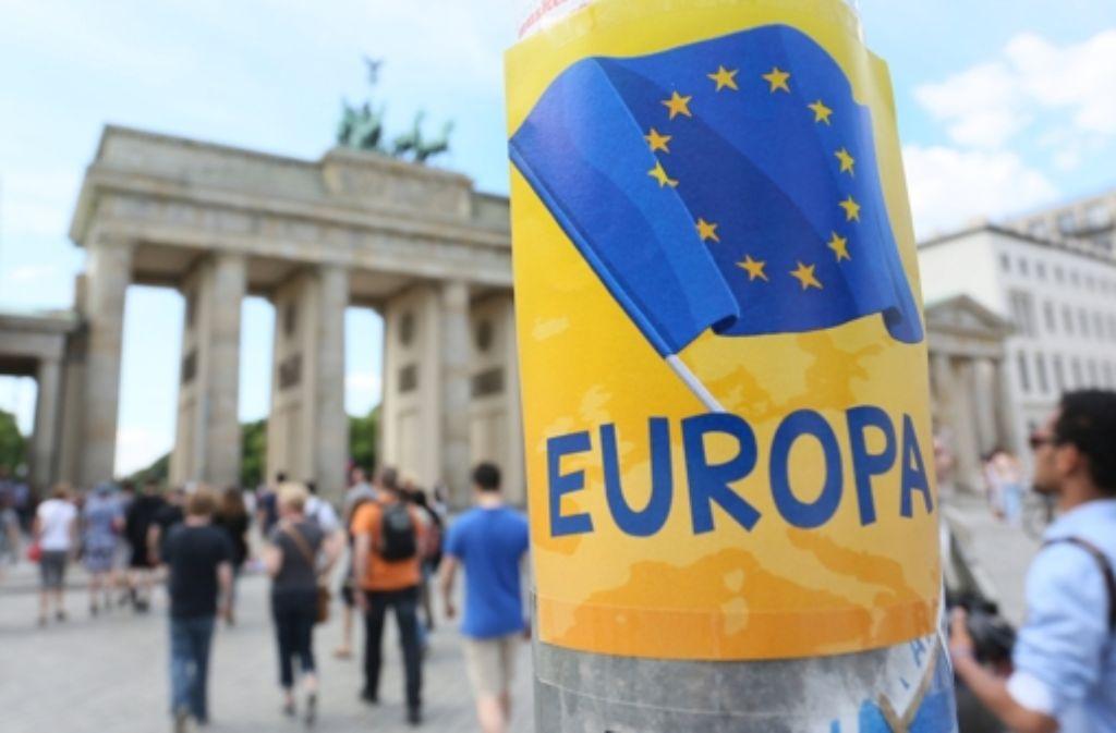 Wohin driftet Europa? Nach der Wahl vom Sonntag ist der Weg unklar. Foto: dpa