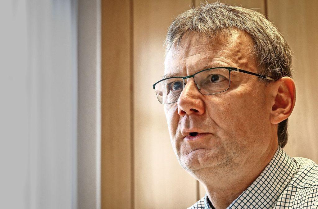 Wirkt ruhig und bedächtig und ist  engagiert: Dierk-Christian Vogt Foto: factum/Granville