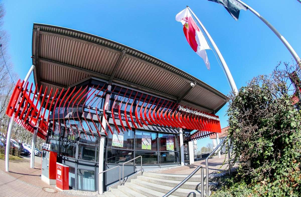 Beim VfB Stuttgart tut sich aktuell einiges rund um das Nachwuchsleistungszentrum (NLZ). Foto: Baumann
