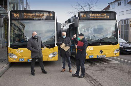 Neue Schnellbuslinie X4 verkehrt ab Montag