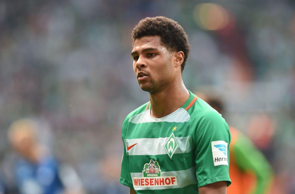 Der FC Bayern München hat Serge Gnabry von Werder Bremen verpflichtet. Foto: dpa