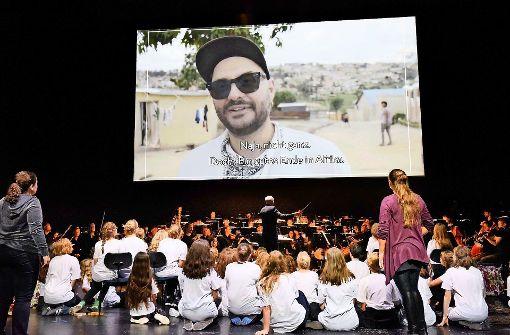 Ein Zeichen der Solidarität mit Kirill Serebrennikow