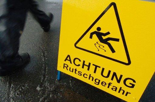 11.12.: 69 Unfälle wegen Glatteis