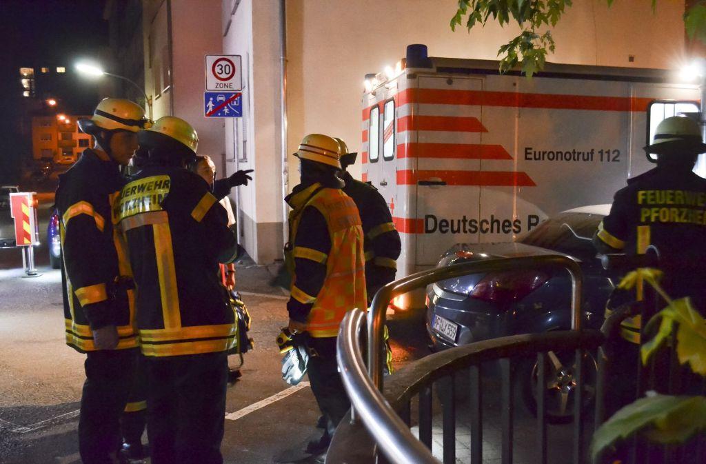 Viele Rettungsktäfte sind Donnerstagnacht vor Ort gewesen. Foto: 7aktuell.de/ 7aktuell