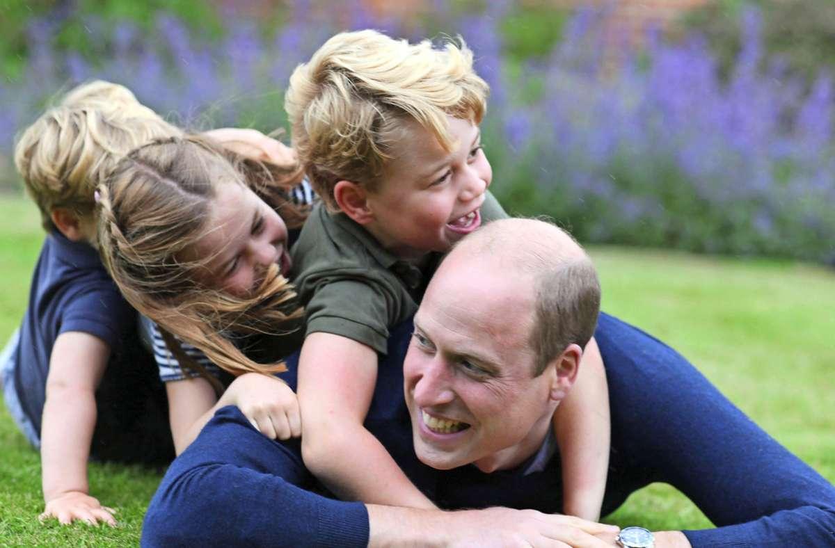 Erstmals sprachen alle drei Kinder von Prinz William und Herzogin Kate vor der Kamera. Foto: AFP/THE DUCHESS OF CAMBRIDGE