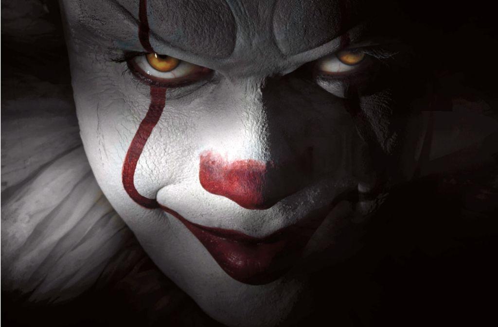 "Stephen Kings ""Es"": 2017 soll der grausige Clown Pennywise als Remake in die Kinos kommen. Foto: dpa"