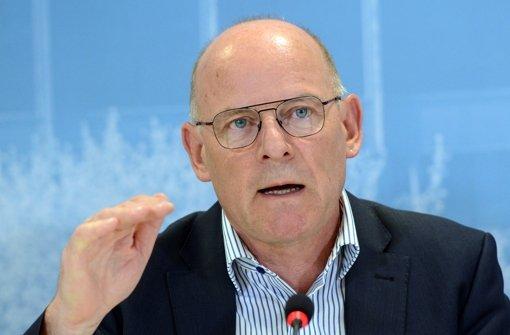 "Der baden-württembergische Verkehrsminister Winfried Hermann lehnt die ""Lex S21"" ab. Foto: dpa"