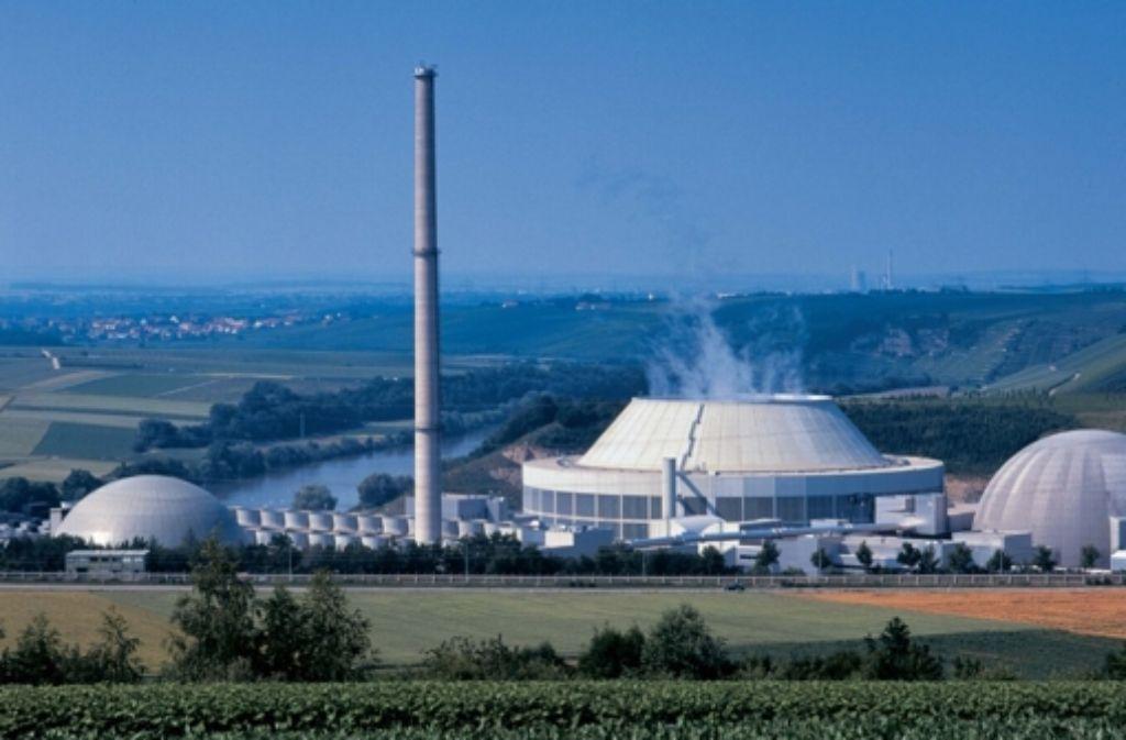 Beim Kernkraftwerk Neckarwestheim soll ein neues Zwischenlager für schwach- und mittelradioaktiven Müll entstehen. Proteste dagegen gibt es kaum. Foto: StZ