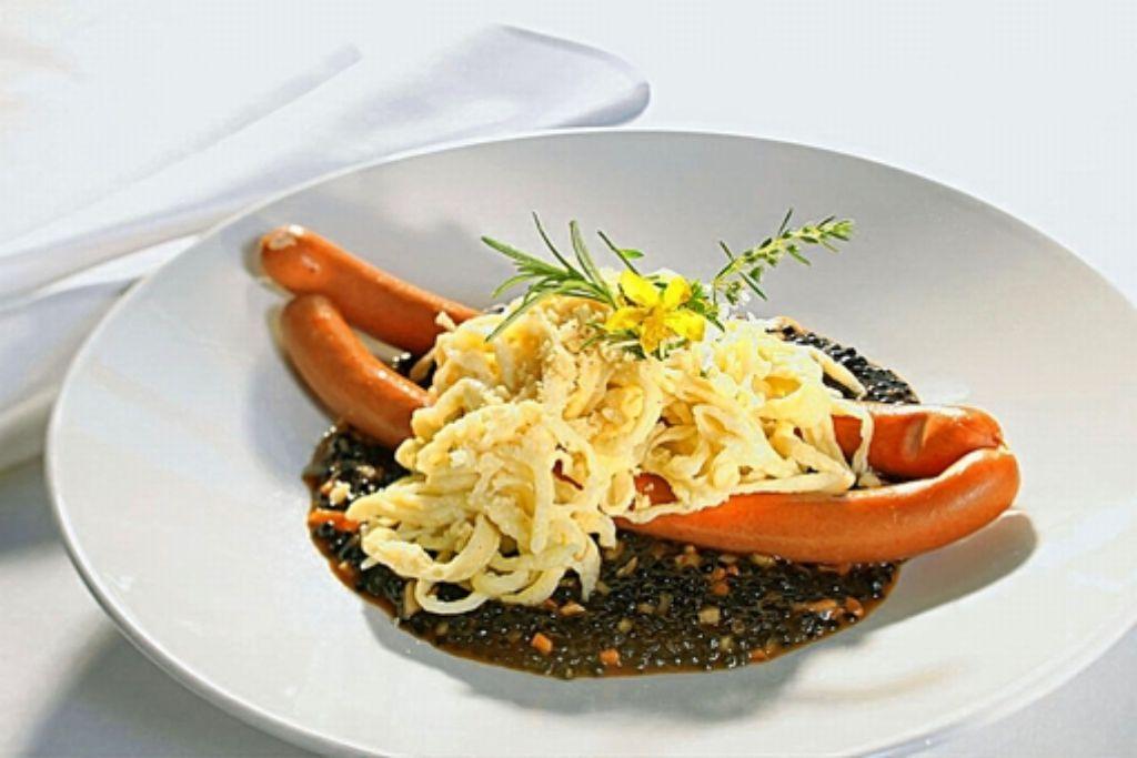 Spätzle mit Alb-Leisa-Linsen – ein regionales Slow-Food-Gericht Foto: www.mythos-alb.de