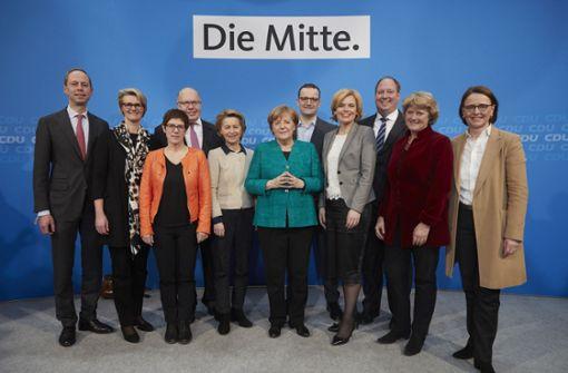 Kritiker fordern Quote für ostdeutsche Minister