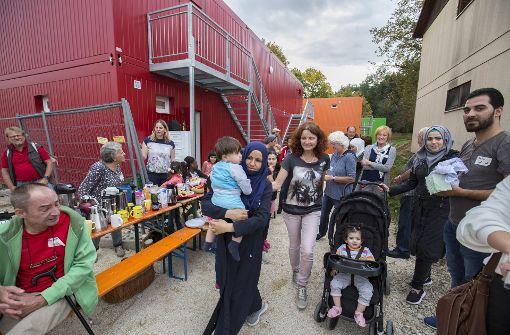 Bunte Container für Familien