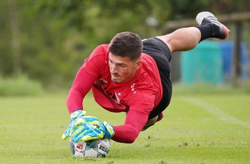 Wie Fabian Bredlow den Kampf um das VfB-Tor sieht