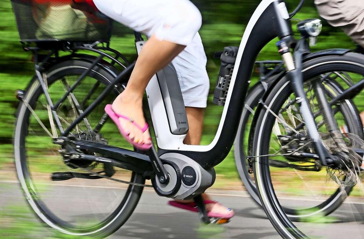 Anfang 2020 gab es  in 4,3 Millionen Haushalten in Deutschland mindestens ein E-Bike. Foto: dpa/Roland Weihrauch