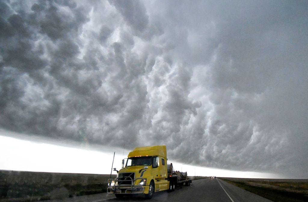 Extreme Wetterbedingungen herrschen zurzeit in den USA Foto: dpa