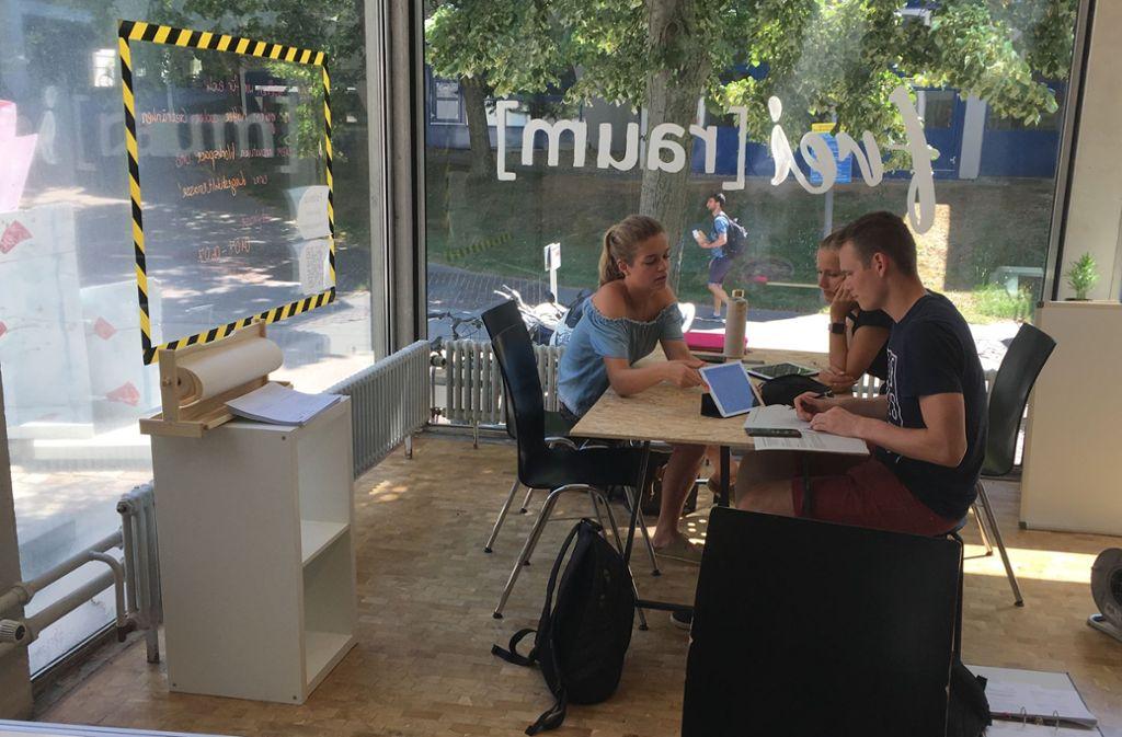 Das Gründercafé soll als offener Treffpunkt für Studierende fungieren. Foto: privat