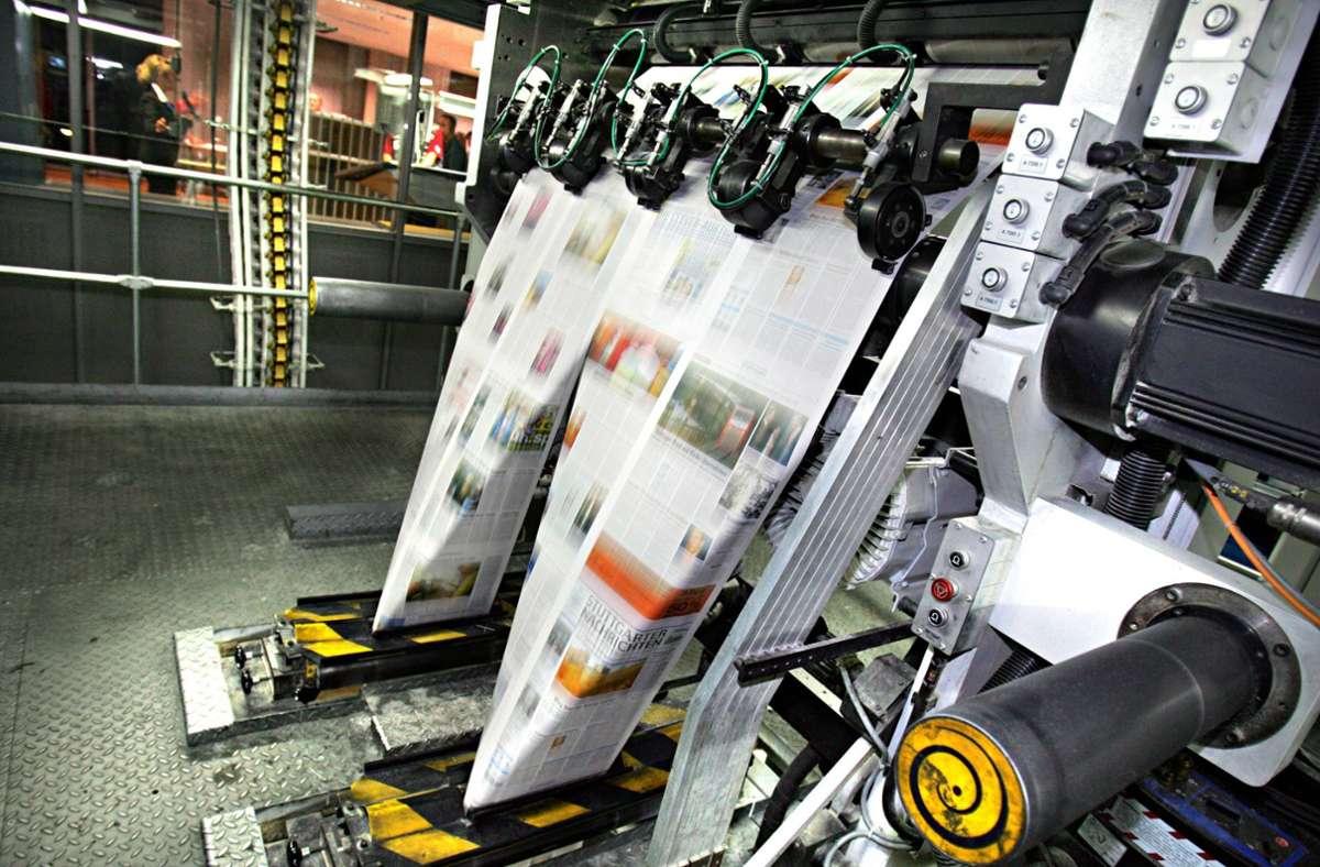 Am Freitagabend gab es leider ein Problem in der Druckerei. (Symbolbild) Foto: imago stock&people