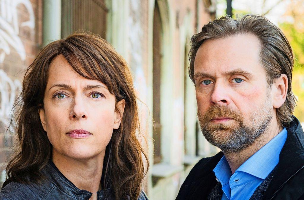 Neue Konstellation in Magdeburg: Brasch (Claudia Michelsen) und Köhler (Matthias Matschke) Foto: MDR