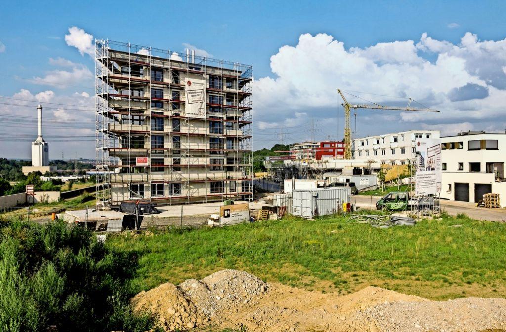 Die Hartenäcker Höhe war eines der größeren Neubaugebiete der vergangenen Jahre, das Bild entstand  2011. Foto: