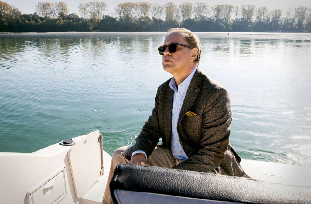 Ein trauriger Held: Uwe Ochsenknecht als Verlegererbe Foto: SWR