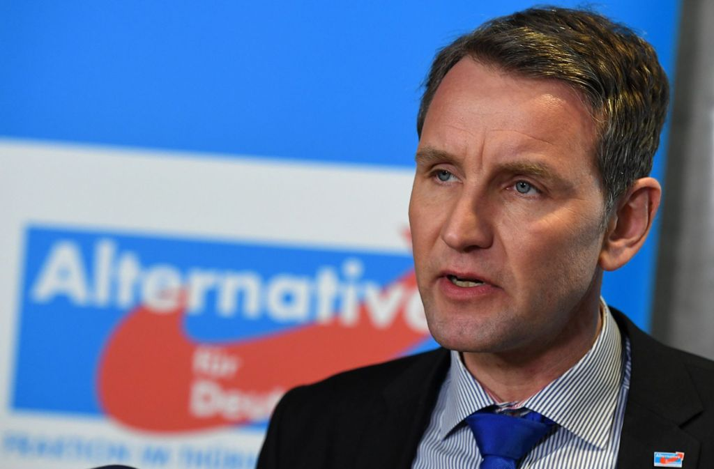 Björn Höcke wurde in den Landtag von Baden-Württemberg eingeladen. Foto: dpa/Hendrik Schmidt