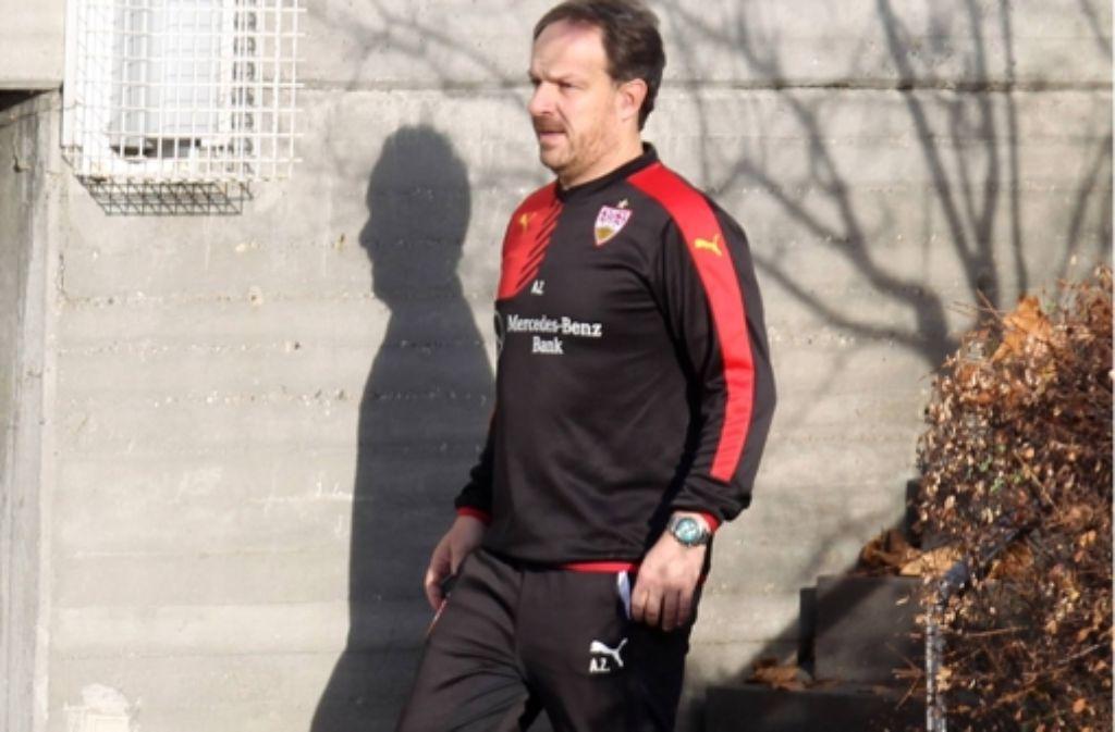 Alexander Zorniger ist beim VfB abgetreten. Foto: dpa